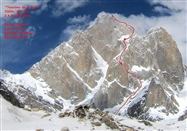 Young French stars' new route on Latok II