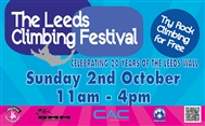 Leeds Climbing Wall Festival - FREE CLIMBING ALL DAY!