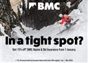 15% off annual BMC Alpine & Ski Travel Insurance in Europe
