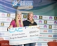 First CAC donation of 2019 at the Vail IFSC Boulder World Cup