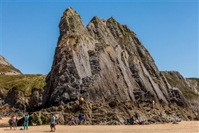 Get yourself to the BMC Gower Climbing Festival