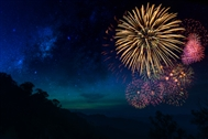 9 night walks in National Parks to see firework displays tonight
