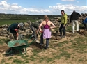Yorkshire volunteers pave the way at Almscliff